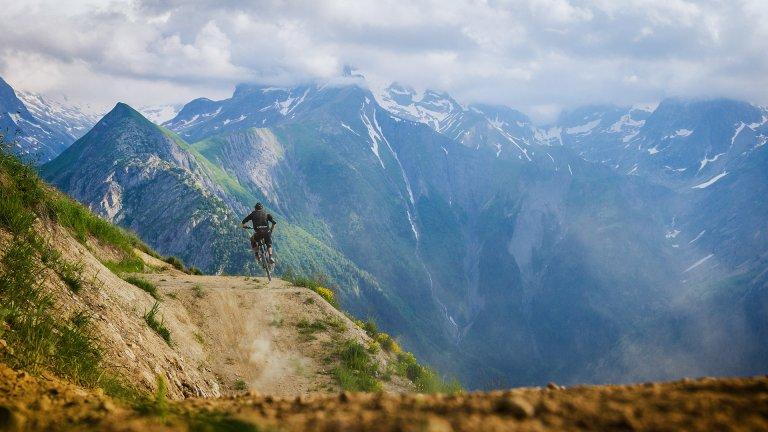 Mountain Top - Mountain Biker