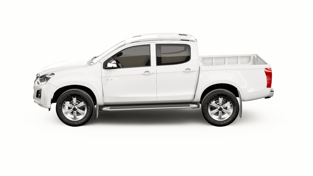 Mountain Top Interactive 3D Showcase - configure Isuzu pickup