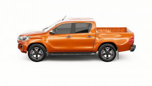Mountain Top Interactive 3D Showcase - configure Toyota Hilux