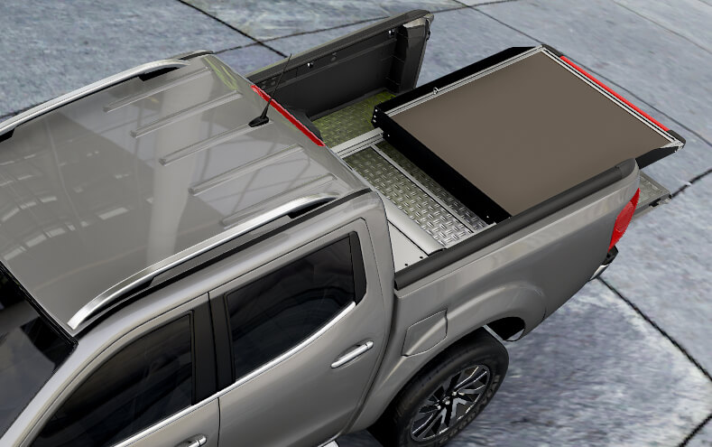 Mountain Top Carge Slide - easy access to your cargo