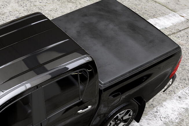 Mountain Top Soft Roll Cover with integrated cross-bar system