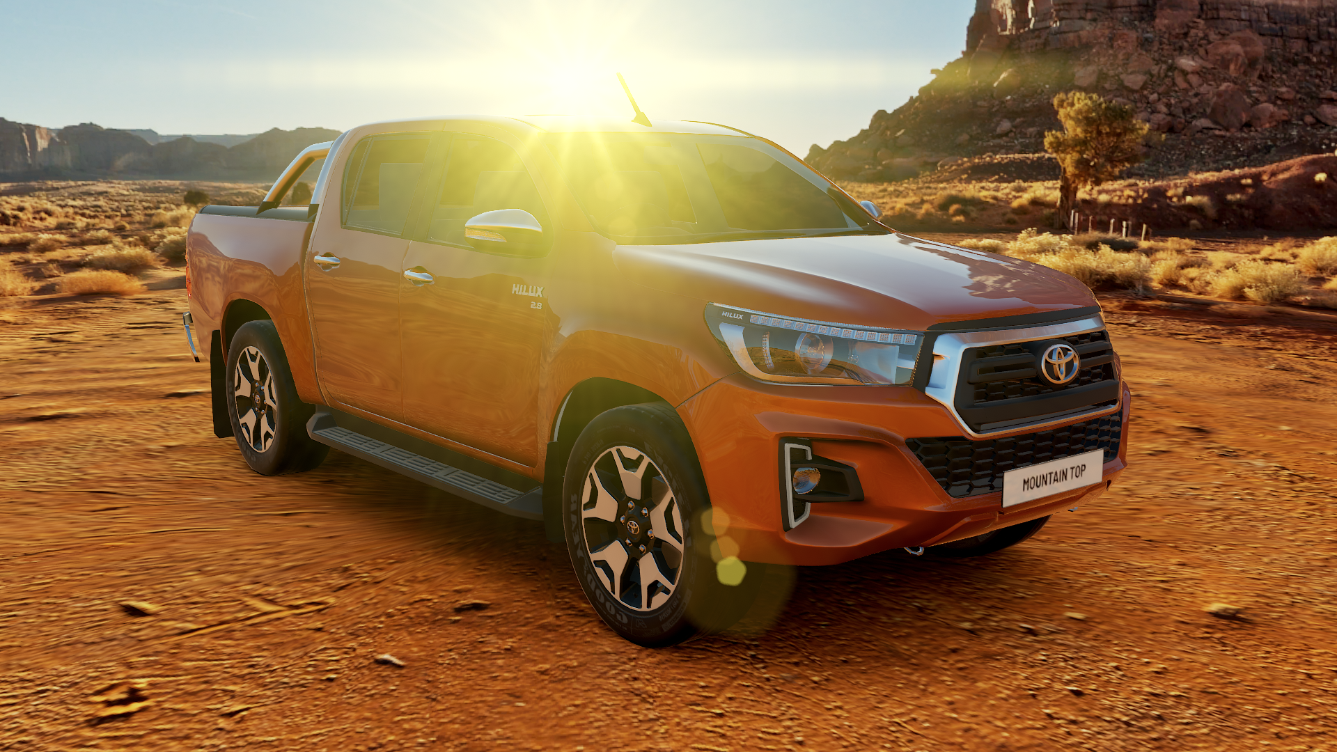 Mountain Top pickup truck accessories enginered for the outback