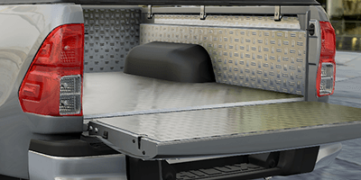 Mountain Top Alu Bedliner manufactured to handle tough work