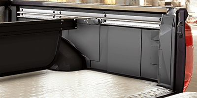 Mountain Top Bed Divider prevent cargo to slide around in the truck bed